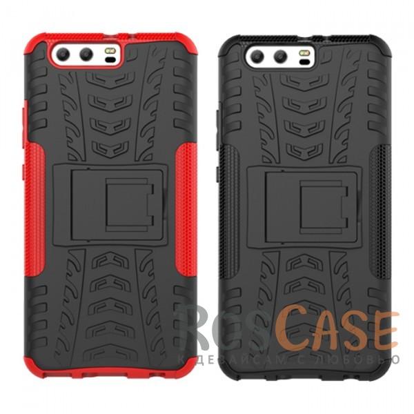 Противоударный двухслойный чехол Shield для Huawei P10 Plus с подставкойОписание:совместим с Huawei P10 Plus;удобная функция подставки;материал - поликарбонат, термополиуретан;тип - накладка;ударопрочная конструкция;предусмотрены все необходимые вырезы;рельефная фактура.<br><br>Тип: Чехол<br>Бренд: Epik<br>Материал: TPU