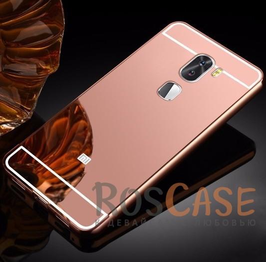 Металлический бампер с акриловой вставкой с зеркальным покрытием для Xiaomi Mi 5s Plus (Розовый)Описание:разработан для Xiaomi Mi 5s Plus;материалы - металл, акрил;тип - бампер с задней панелью.<br><br>Тип: Чехол<br>Бренд: Epik<br>Материал: Металл