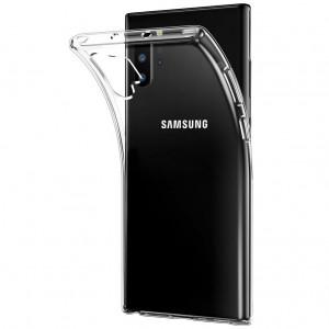 Clear Case | Прозрачный TPU чехол 2мм для Samsung Galaxy Note 10 Plus