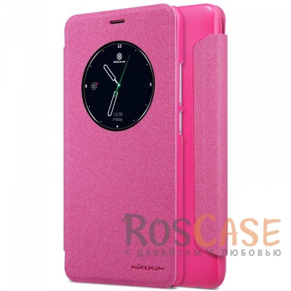 Фото Розовый Nillkin Sparkle | Чехол-книжка с функцией Sleep Mode для Meizu M5 Note