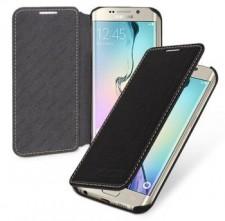 TETDED натур. кожа | Чехол-книжка для для Samsung G925F Galaxy S6 Edge