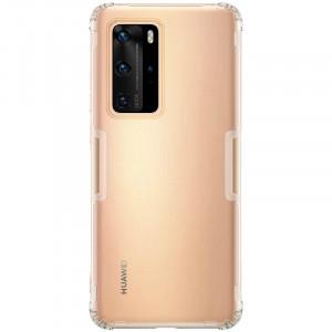 Nillkin Nature | Прозрачный силиконовый чехол  для Huawei P40 Pro