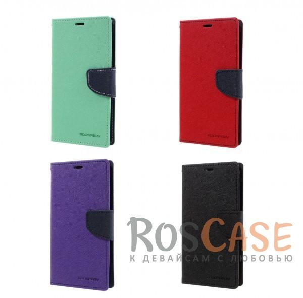 Чехол (книжка) Mercury Fancy Diary series для Xiaomi Redmi Note 4Описание:бренд&amp;nbsp;Mercury;создан для Xiaomi Redmi Note 4;материалы  -  искусственная кожа, термополиуретан;форма  -  чехол-книжка.&amp;nbsp;Особенности:фактурная поверхность;все функциональные вырезы в наличии;внутренние кармашки;магнитная застежка;защита от механических повреждений;трансформируется в подставку.<br><br>Тип: Чехол<br>Бренд: Mercury<br>Материал: Искусственная кожа