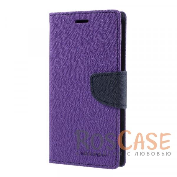 Прочный чехол-книжка Mercury Fancy Diary из эко-кожи с магнитной застежкой и функцией подставки для Xiaomi Mi 6 (Фиолетовый / Синий)Описание:бренд&amp;nbsp;Mercury;разработан для Xiaomi Mi 6;материалы  -  искусственная кожа, термополиуретан;формат  -  чехол-книжка;магнитная застежка;функция подставки;не скользит в руках.<br><br>Тип: Чехол<br>Бренд: Mercury<br>Материал: Искусственная кожа