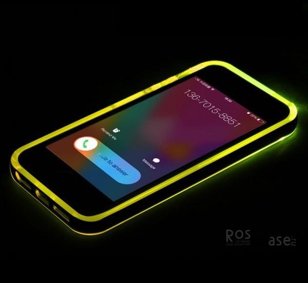 изображение светящийся TPU чехол ROCK Tube Series для Apple iPhone 5/5S/5SE