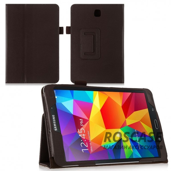 Кожаный чехол-книжка TTX с функцией подставки для Samsung Galaxy Tab S2 9.7 (Коричневый)Описание:производитель  - &amp;nbsp;TTX;совместимость - Samsung Galaxy Tab S2 9.7;материалы  -  кожзам, микрофибра;форма  -  чехол-книжка.&amp;nbsp;Особенности:трансформируется в подставку;имеет все функциональные отверстия;легко устанавливается и снимается;тонкий и легкий;защищает от царапин и ударов;устойчив к низким температурам.<br><br>Тип: Чехол<br>Бренд: TTX<br>Материал: Искусственная кожа