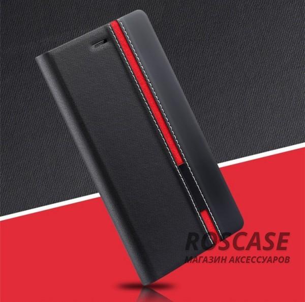 Чехол (книжка) с TPU креплением Stripe series для Doogee Y300/Y300 Pro (Черный)Описание:произведен компанией&amp;nbsp;Epik;разработан для Doogee Y300/Y300 Pro;материал: искусственная кожа;тип: чехол-книжка.&amp;nbsp;Особенности:все функциональные вырезы в наличии;защита от ударов и падений;не скользит в руках;трансформируется в подставку.<br><br>Тип: Чехол<br>Бренд: Epik<br>Материал: Искусственная кожа