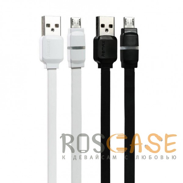 Фото Remax RC-029 | Плоский дата кабель с разъемом MicroUSB (100 см)