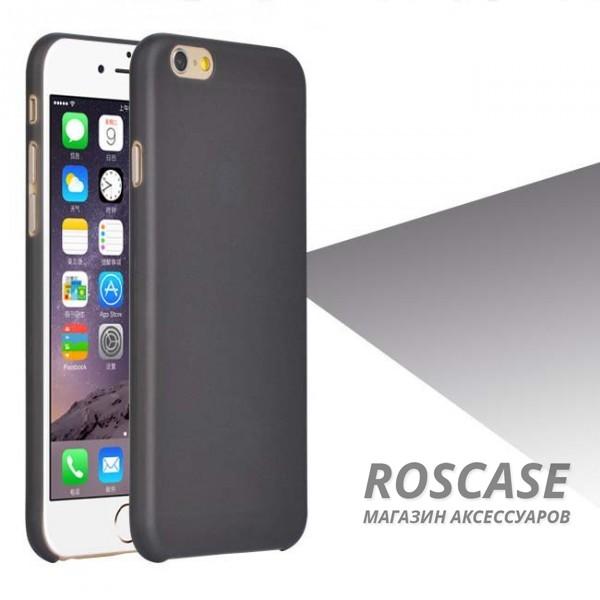 Пластиковая накладка Ultrathin 0.3mm для Apple iPhone 6/6s (4.7) (Черный (матовый))Описание:компания разработчик: Epik;совместимость с устройством модели: Apple iPhone 6/6s (4.7);материал изделия: пластик;конфигурация: чехол в виде накладки.Особенности:элегантный дизайн;высокий класс износоустойчивости и прочности;не увеличивает объем смартфона;простая установка и надежная фиксация;имеет все необходимые функциональные вырезы.<br><br>Тип: Чехол<br>Бренд: Epik<br>Материал: TPU