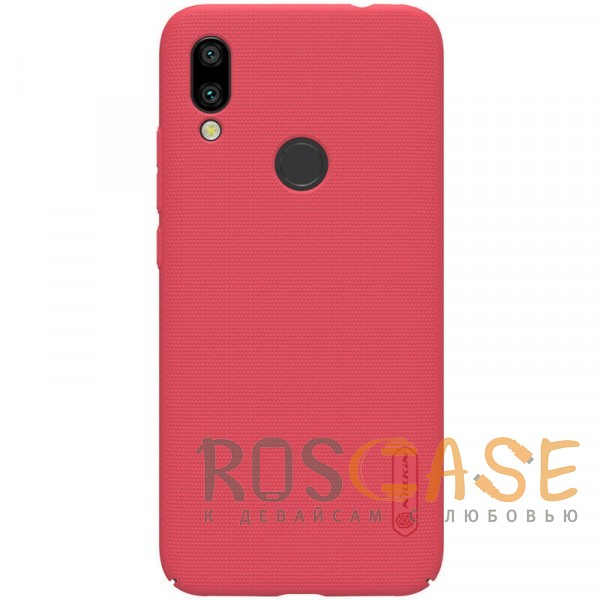 Фото Красный Nillkin Super Frosted Shield | Матовый чехол для Xiaomi Redmi 7