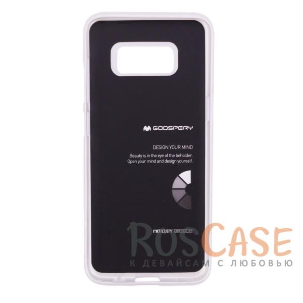 Фотография Серебряный Mercury iJelly Metal | Силиконовый чехол для Samsung G950 Galaxy S8