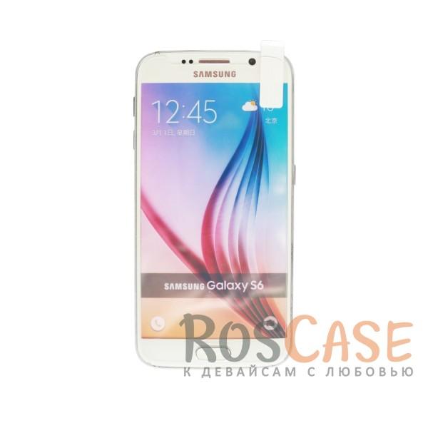 Защитное стекло Ultra Tempered Glass 0.33mm (H+) для Samsung Galaxy S6 G920F/G920D DS (карт. уп-вка)Описание:совместимо с устройством Samsung Galaxy S6 G920F/G920D DS;материал: закаленное стекло;тип: защитное стекло на экран.&amp;nbsp;Особенности:закругленные&amp;nbsp;грани стекла обеспечивают лучшую фиксацию на экране;стекло очень тонкое - 0,33 мм;отзыв сенсорных кнопок сохраняется;стекло не искажает картинку, так как абсолютно прозрачное;выдерживает удары и защищает от царапин;размеры и вырезы стекла соответствуют особенностям дисплея.<br><br>Тип: Защитное стекло<br>Бренд: Epik
