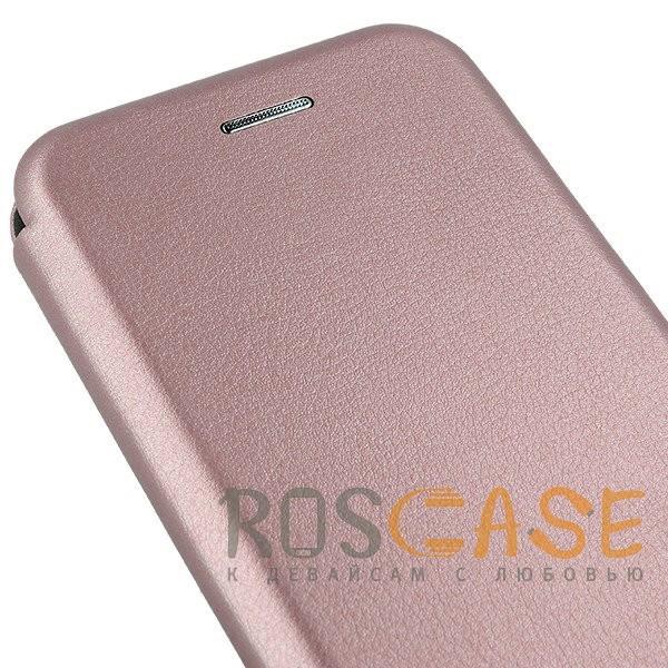 Изображение Rose Gold Open Color | Чехол-книжка для Xiaomi Mi 6X / Mi A2 с функцией подставки и магнитом
