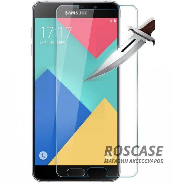 Защитное стекло Ultra Tempered Glass 0.33mm (H+) для Samsung A510F Galaxy A5 (2016) (карт. уп-вка)Описание:бренд&amp;nbsp;Epik;совместимость Samsung A510F Galaxy A5 (2016);материал: закаленное стекло;тип: защитное стекло на экран.&amp;nbsp;Особенности:закругленные&amp;nbsp;грани;не влияет на чувствительность сенсора;легко очищается;толщина - &amp;nbsp;0,33 мм;абсолютно прозрачное;защита от царапин и ударов.<br><br>Тип: Защитное стекло<br>Бренд: Epik