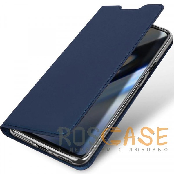 Фотография Синий Чехол-книжка Dux Ducis с карманом для визиток для OnePlus 7 Pro