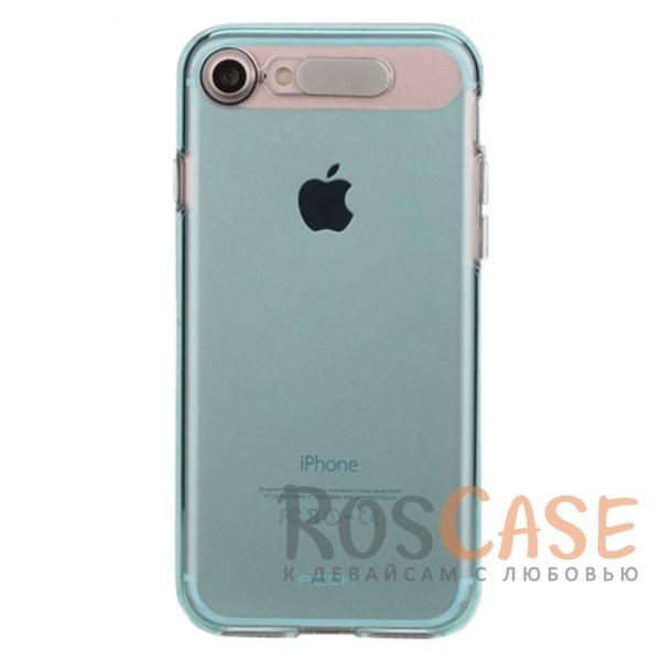 Светящийся глянцевый чехол с цветной подсветкой входящих вызовов для Apple iPhone 7 / 8 (4.7) (Синий / Transparent Blue)Описание:производитель  - &amp;nbsp;Rock;совместим с Apple iPhone 7 / 8 (4.7);материал  -  термополиуретан;тип  -  накладка.&amp;nbsp;Особенности:светится во время входящих звонков;прочный;легко чистится;не увеличивает габариты;защита экрана благодаря выступающим бортикам;имеет все функциональные вырезы;защищает от царапин и ударов.<br><br>Тип: Чехол<br>Бренд: ROCK<br>Материал: TPU