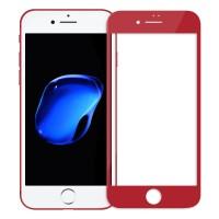"""Объемное защитное стекло Nillkin 3D на весь экран с олеофобным покрытием """"анти-отпечатки"""" для Apple iPhone 8 (4.7"""")"""
