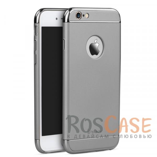 Изящный чехол iPaky (original) Joint с глянцевой вставкой цвета металлик для Apple iPhone 6/6s (4.7) (Серый)Описание:производитель: iPaky;совместимость: смартфон Apple iPhone 6/6s (4.7);материал: пластик;форм-фактор: накладка.Особенности:узнаваемый и стильный дизайн;надежная система фиксации;прочный и износостойкий;не деформируется;не скользит в руках и на поверхности.<br><br>Тип: Чехол<br>Бренд: iPaky<br>Материал: Пластик