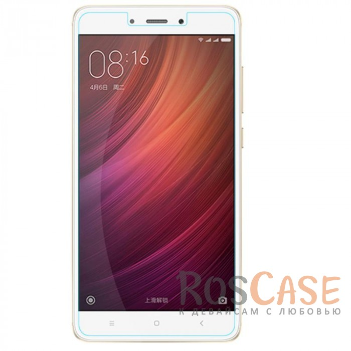 Фото Прозрачное защитное стекло с олеофобным покрытием для Xiaomi Redmi Note 4X / Note 4 (Snapdragon)