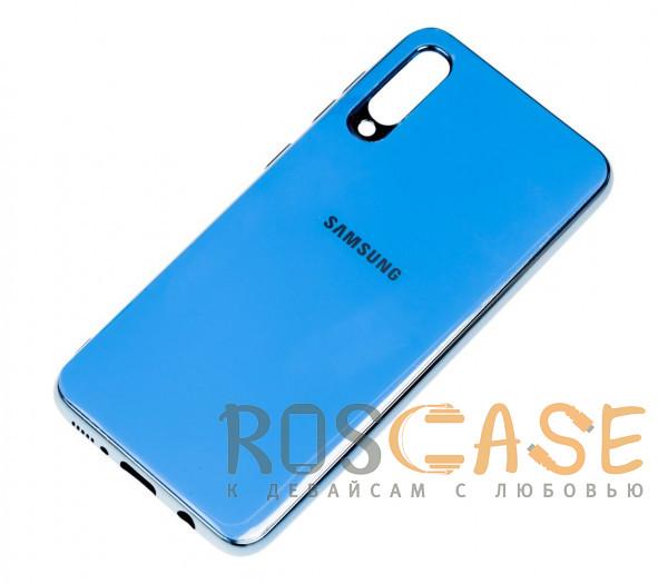 Фотография Голубой TPU чехол GLOSSY LOGO для Samsung Galaxy A50 (A505F) / A50s / A30s