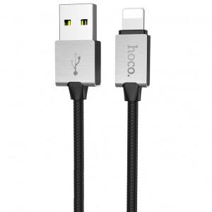 Hoco U49 | Дата кабель USB to Lightning в металлическом корпусе (100 см) для Meizu Pro 6