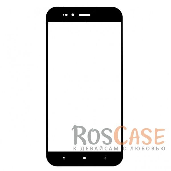Фотография Черный Artis 2.5D | Цветное защитное стекло на весь экран для Xiaomi Mi 5X / Mi A1 на весь экран