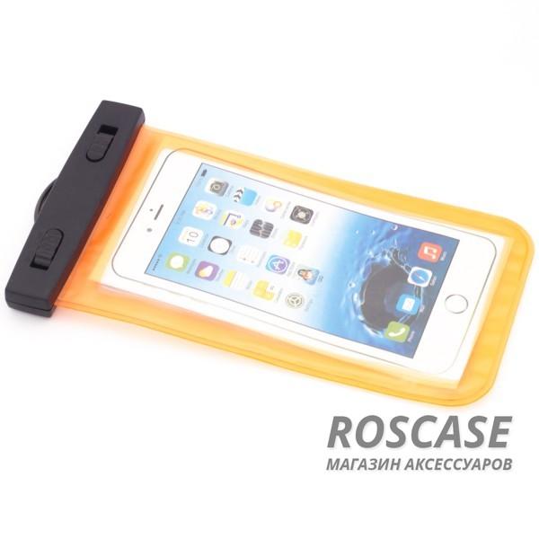 Bingo-водонепроницаемый чехол до 5,5 (Оранжевый)Описание:производитель - Bingo;совместимость: устройства с диагональю до 5,5;используемый материал: мягкий пластик;форма: чехол.Особенности:износостойкий;надежный;стильный;ультратонкий;простота эксплуатации;через чехол можно управлять смартфоном;в комплекте&amp;nbsp;шнурок длиной 40 см.<br><br>Тип: Чехол<br>Бренд: Epik<br>Материал: Пластик