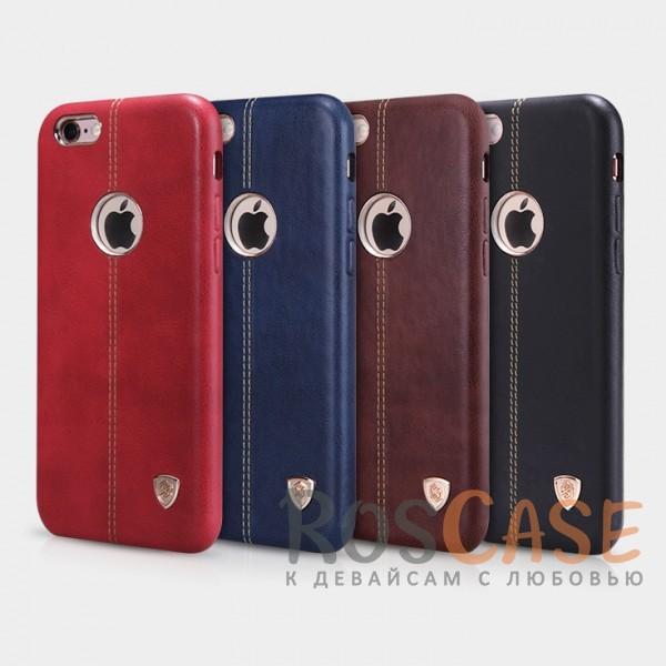 Кожаная накладка Nillkin Englon Series для Apple iPhone 6/6s (4.7)Описание:произведено брендом&amp;nbsp;Nillkin;совместимость - Apple iPhone 6/6s (4.7);материал: натуральная кожа, микрофибра;тип: накладка.&amp;nbsp;Особенности:ультратонкий дизайн;фактурная поверхность;декоративная строчка;не скользит в руках;защищает заднюю панель и боковые грани.<br><br>Тип: Чехол<br>Бренд: Nillkin<br>Материал: Натуральная кожа