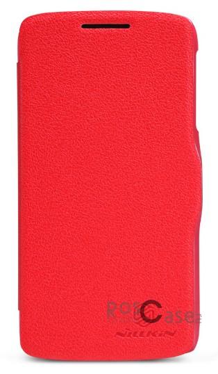 Кожаный чехол (книжка) Nillkin Fresh Series для Lenovo S820 (Красный)Описание:Изготовлен компанией Nillkin;Спроектирован персонально для Lenovo S820;Материал: синтетическая высококачественная кожа и поликарбонат;Форма: чехол в виде книжки.Особенности:Исключается появление царапин и возникновение потертостей;Восхитительная амортизация при любом ударе;Передняя поверхность  -  мелкая текстурная, задняя  -  гладкая, с перламутровым оттенком;Не подвергается деформации;Непритязателен в уходе.<br><br>Тип: Чехол<br>Бренд: Nillkin<br>Материал: Искусственная кожа