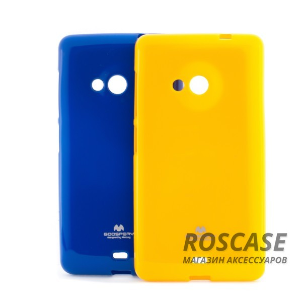 фото TPU чехол Mercury Jelly Color series для Microsoft Lumia 535