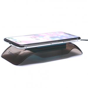 T-phox T-WC-06 | Беспроводное зарядное устройство в прозрачном корпусе