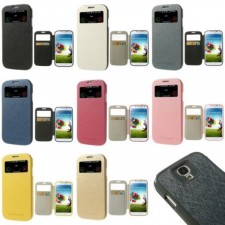 фото Чехол (книжка) Mercury Wow Bumper series для Samsung i9500 Galaxy S4