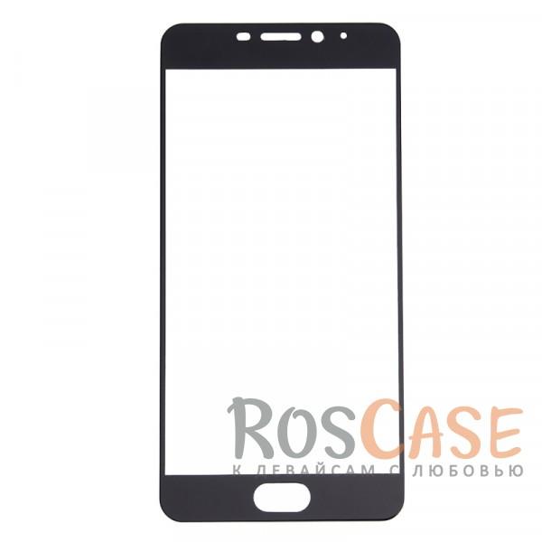 Фотография Черный CaseGuru | Полноэкранное защитное стекло для для Meizu M5