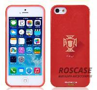 "TPU чехол Remax World Cup ""Portugal"" для Apple iPhone 5/5S/SE"