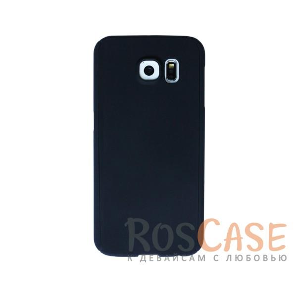 Чехол 360 KMC Colorama для Samsung Galaxy S6 G920F/G920D Duos (+стекло) (Черный)<br><br>Тип: Чехол<br>Бренд: Epik<br>Материал: Пластик