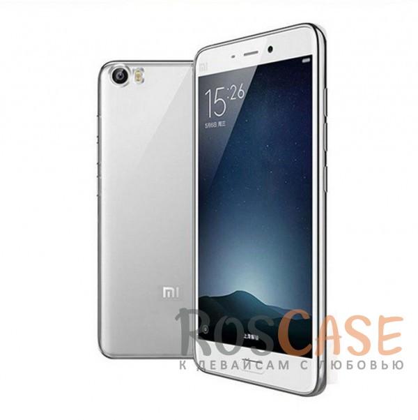 Прозрачный силиконовый чехол для Xiaomi MI5 / MI5 Pro с глянцевой окантовкой (Серебряный)Описание:подходит для Xiaomi MI5 / MI5 Pro;материал - силикон;тип - накладка.Особенности:глянцевая окантовка;прозрачный центр;гибкий;все вырезы в наличии;не скользит в руках;ультратонкий.<br><br>Тип: Чехол<br>Бренд: Epik<br>Материал: TPU
