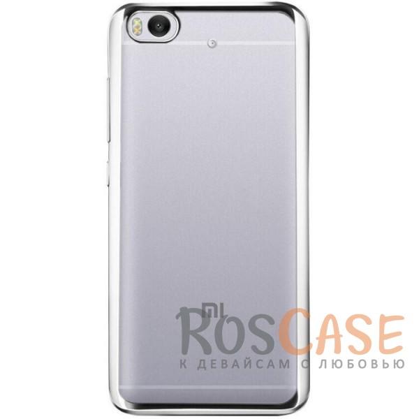 Прозрачный силиконовый чехол для Xiaomi Mi 5s с глянцевой окантовкой (Серебряный)Описание:совместим с Xiaomi Mi 5s;материал - термополиуретан;тип - накладка.<br><br>Тип: Чехол<br>Бренд: Epik<br>Материал: TPU