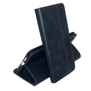 Business Wallet | Кожаный чехол книжка с визитницей  для Huawei Y8P