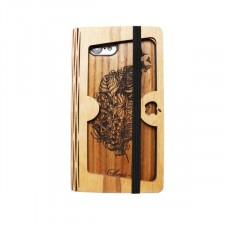 """Накладка Buddy с деревянной вставкой ручной работы для Apple iPhone 7 / 8 (4.7"""")"""