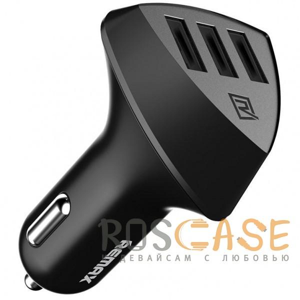 Фото REMAX RCC304 Aliens   Автомобильное зарядное устройство на 3 USB (4.2A)
