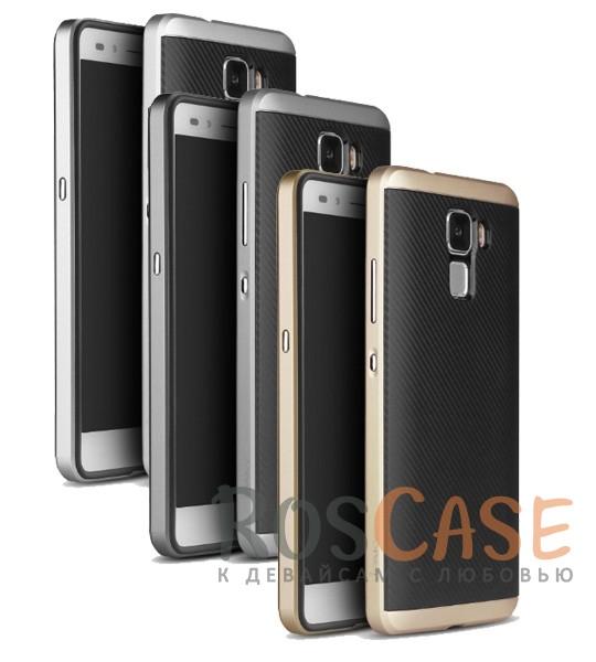 Чехол iPaky TPU+PC для Huawei Honor 7Описание:производитель - iPaky;совместим с Huawei Honor 7;материал: термополиуретан, поликарбонат;форма: накладка на заднюю панель.Особенности:эластичный;рельефная поверхность;прочная окантовка;ультратонкий;защита экрана и камеры благодаря выступающим краям;надежная фиксация.<br><br>Тип: Чехол<br>Бренд: Epik<br>Материал: TPU