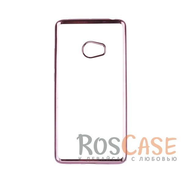 Прозрачный силиконовый чехол для Xiaomi Mi Note 2 с глянцевой окантовкой (Розовый)Описание:совместим с Xiaomi Mi Note 2;глянцевая окантовка;материал - TPU;тип - накладка.<br><br>Тип: Чехол<br>Бренд: Epik<br>Материал: TPU