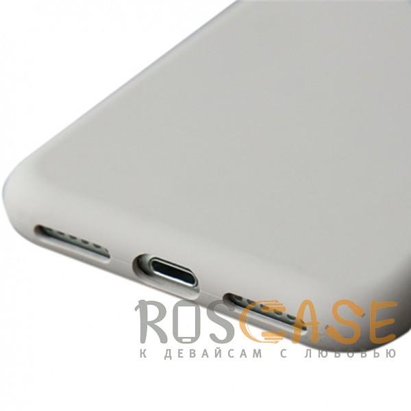 """Фото Сиреневый / Light purple Rock Silicon   Ультратонкий чехол для Apple iPhone 7 / 8 (4.7"""") из силикона"""
