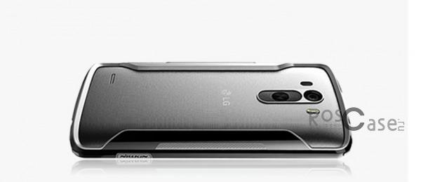 Бампер Nillkin Armor-Border series для LG D855/D850/D856 Dual G3 (Черный)Описание:производитель  - &amp;nbsp;Nillkin;совместим с LG D855/D850/D856 Dual G3;материал  -  пластик;форма  -  бампер.&amp;nbsp;Особенности:тонкий;имеет все необходимые вырезы;прочный;не увеличивает габариты;защищает от ударов и падений;вставка &amp;laquo;анти-шок&amp;raquo;.<br><br>Тип: Чехол<br>Бренд: Nillkin<br>Материал: Пластик