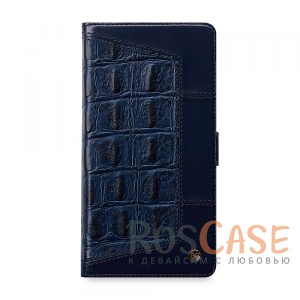 Кожаный чехол-книжка STIL Ares Series для Apple iPhone 7 (4.7) (+ карманы для визиток) (Синий / Navy Blue)Описание:производитель&amp;nbsp;STIL;разработан для Apple iPhone 7 (4.7);материалы - натуральная кожа,&amp;nbsp;синтетическая кожа, пластик;тип - чехол-книжка.<br><br>Тип: Чехол<br>Бренд: Stil<br>Материал: Натуральная кожа