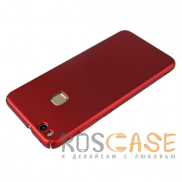 Изображение Красный J-Case THIN | Пластиковый чехол для Huawei P10 Lite с гладким покрытием