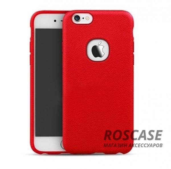Силиконовая накладка iPaky с имитацией кожи для Apple iPhone 6/6s (4.7) (Красный)Описание:компания-разработчик: iPaky;совместимость с устройством модели: Apple iPhone 6/6s (4.7);материал изделия: силикон;конфигурация: накладка.Особенности:элегантный дизайн;высокий класс прочности и износоустойчивости;легко и надежно фиксируется на смартфоне;имеет все необходимые функциональные вырезы.<br><br>Тип: Чехол<br>Бренд: Epik<br>Материал: TPU
