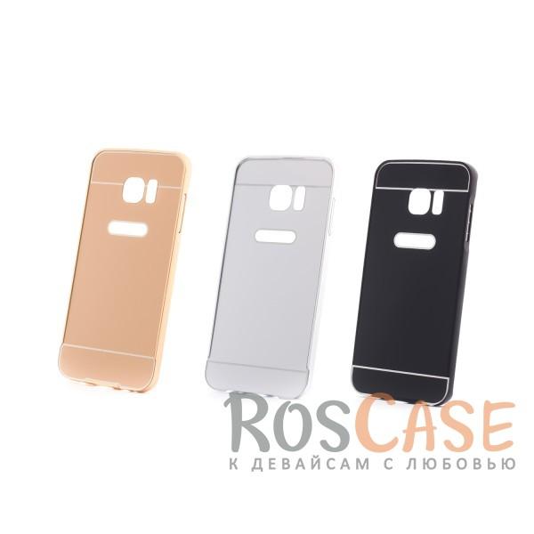 Металлический бампер с пластиковой вставкой для Samsung G935F Galaxy S7 EdgeОписание:сделан для Samsung G935F Galaxy S7 Edge;материалы: металл, пластик;тип чехла: бампер со вставкой.Особенности:металлическая окантовка;эргономичный дизайн;защита от механических повреждений;вставка из пластика;предусмотрены все функциональные вырезы;прочно фиксируется.<br><br>Тип: Чехол<br>Бренд: Epik<br>Материал: Металл