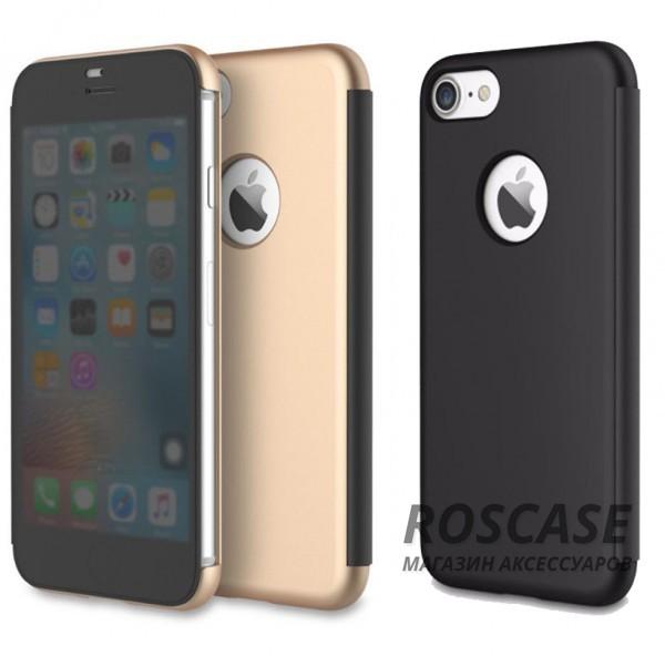 Чехол (книжка) Rock DR.V Series для Apple iPhone 7 (4.7)Описание:производитель  -  компания Rock;разработан для Apple iPhone 7 (4.7);материалы  -  поликарбонат, полиуретан;форма  -  чехол-книжка.&amp;nbsp;Особенности:функция Smart window;декоративная фактура;имеются все функциональные разъемы;на нем не видны отпечатки пальцев;защита от ударов и царапин.<br><br>Тип: Чехол<br>Бренд: ROCK<br>Материал: Пластик
