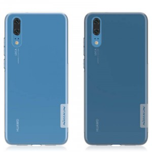 Nillkin Nature | Прозрачный силиконовый чехол для Huawei P20